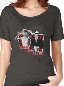 Bonnie and Clyde - Warren Beatty and Faye Dunaway Women's Relaxed Fit T-Shirt