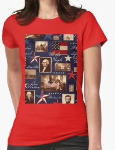 Patriotic, Symbolic, Iconic Womens Fitted T-Shirt