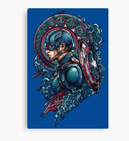 Cap Side Canvas Print