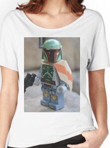 Lego Star Wars Boba Fett Women's Relaxed Fit T-Shirt