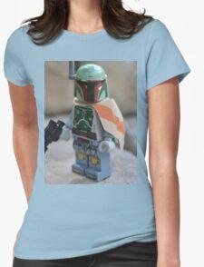 Lego Star Wars Boba Fett Womens Fitted T-Shirt