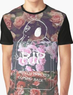 DEAD YOUTH Ⓡ / youth is never coming back ~ FLOWER Ver. Graphic T-Shirt