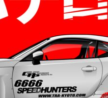 FT86 X SPEEDHUNTER Sticker