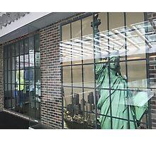 BYE AEROPOSTALE NY Photographic Print