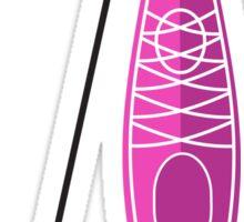 Kayak Girl Sticker
