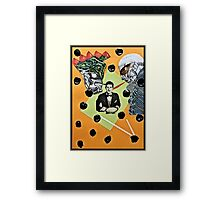 Billy Found it Painful Not to Follow the Voices Framed Print