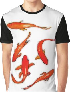 Several red fish swimming Graphic T-Shirt