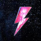 David Bowie - Ziggy Stardust Design  by Sk00ma