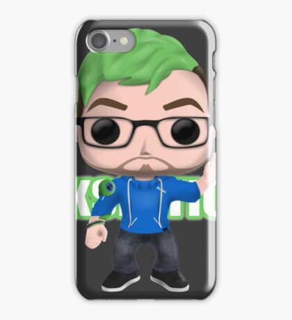 Jacksepticeye Pop! Vinyl Design (2nd Edition) iPhone Case/Skin