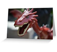 Lego the Hobbit Smaug Greeting Card