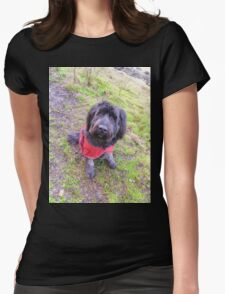 Girl's Best Friend Womens Fitted T-Shirt