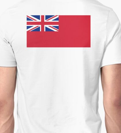 Red Ensign, NAVY, Merchant Navy, Flag, Red Duster, Royal Navy Flag,  Unisex T-Shirt
