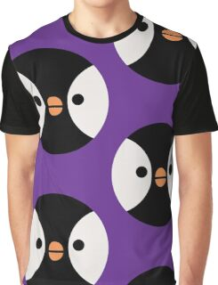 Pigeon Penguin Graphic T-Shirt