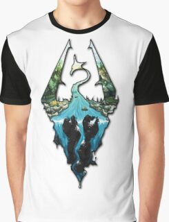 Skyrim Logo Graphic T-Shirt