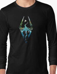 Skyrim Logo Long Sleeve T-Shirt