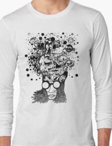 Bubbling Mind (Black) Long Sleeve T-Shirt