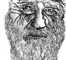 Old Man With Beard by Epicurian