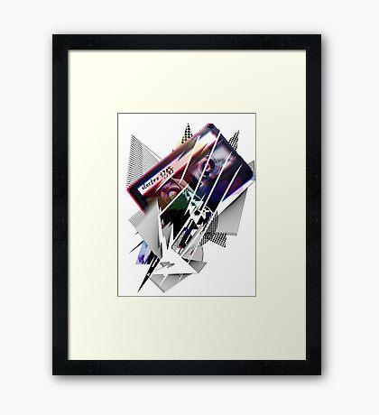 ELECTRO 1985 Framed Print