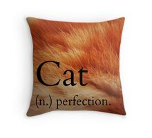 ''cat'' in the dictionary #2 Throw Pillow