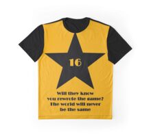 16 Tony Nominations Graphic T-Shirt