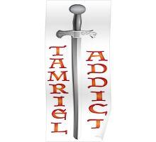 Tamriel Addict Poster