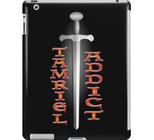 Tamriel Addict iPad Case/Skin