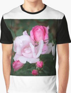 Roses In Different Stages Graphic T-Shirt