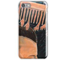 To comb social reactions iPhone Case/Skin