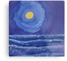 Night Surf original painting Metal Print