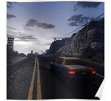 A Long Ride - GTA V Poster