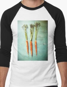 Three Carrots Men's Baseball ¾ T-Shirt