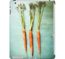 Three Carrots iPad Case/Skin