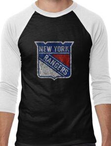 New York Rangers Men's Baseball ¾ T-Shirt