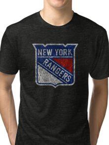 New York Rangers Tri-blend T-Shirt