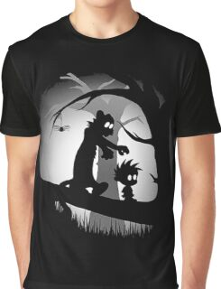 Calvin And Hobbes Adventure Graphic T-Shirt