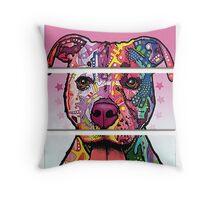 dog art  Throw Pillow