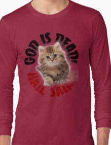 God Is Dead No3 Long Sleeve T-Shirt