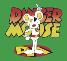 Danger Mouse One Piece - Short Sleeve