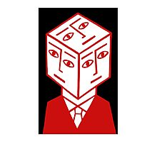 Cube Dude Photographic Print