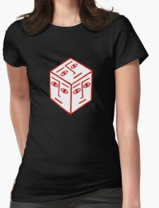 Cube Dude Womens Fitted T-Shirt