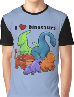 I <3 Dinosaurs Graphic T-Shirt