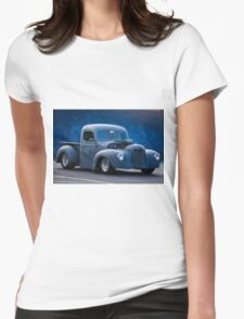 International Harvestor Hot Rod Pickup Womens Fitted T-Shirt