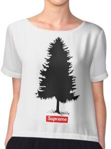 Supreme Tree Chiffon Top