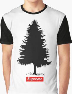 Supreme Tree Graphic T-Shirt