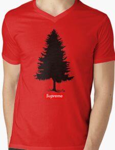 Supreme Tree Mens V-Neck T-Shirt