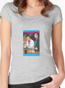 Carpenter Jack Burton & Snake Plissken Women's Fitted Scoop T-Shirt