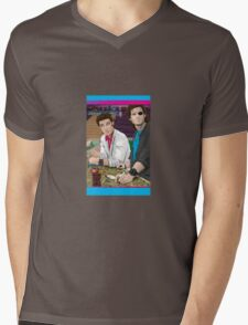 Carpenter Jack Burton & Snake Plissken Mens V-Neck T-Shirt