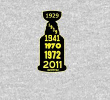 Boston Bruins Stanley Cup Winning Years Unisex T-Shirt