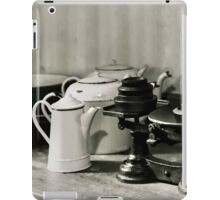 Dunham Massey -Scale and pots iPad Case/Skin