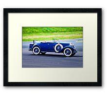 1929 Hupmobile 'A' Roadster I Framed Print